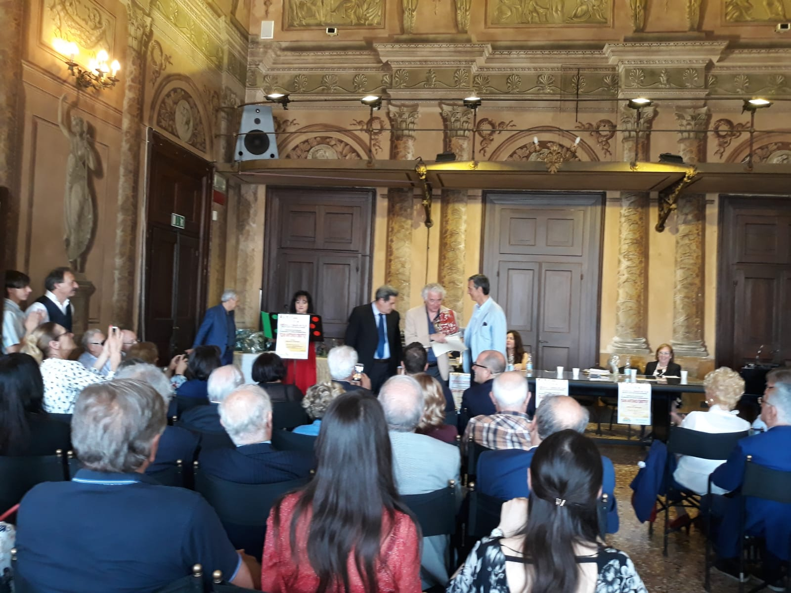 Roberto Bianchin premiato a Rovigo nel concorso «G.A. Cibotto».