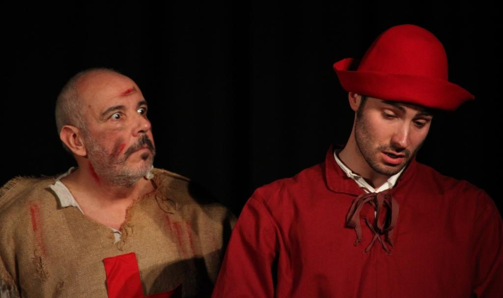 Una scena de Il Reduce (foto Teatro Club).