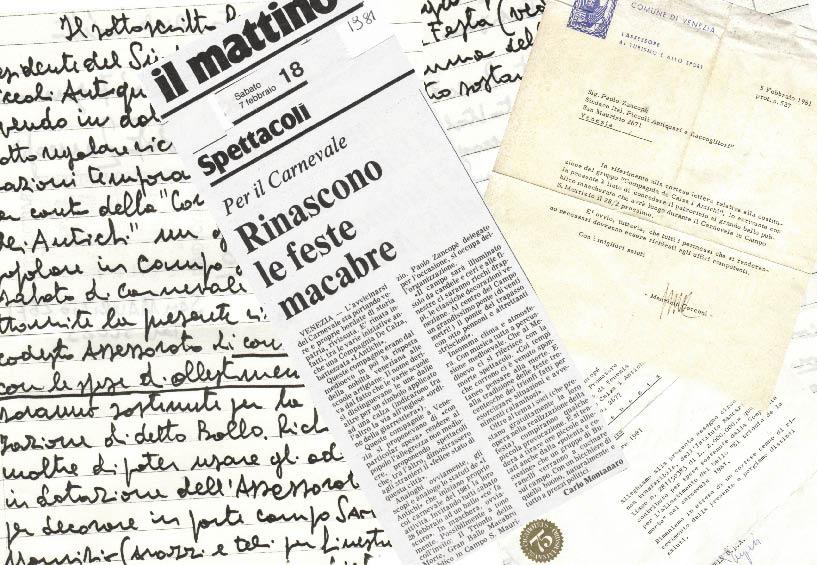1981 - Rassegna stampa e documenti vari.